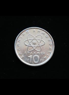 Graikija, 10 drachmų, 1990m