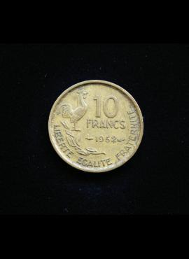 Prancūzija, 10 frankų 1952m