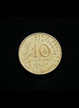 Prancūzija, 10 santimų 1977m