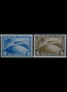 Vokietijos Reichas, pilna serija MiNr 438-439 KOPIJOS