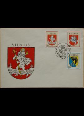 Lietuva, 1992m pirmos dienos vokas