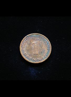 Vokietija, 1 pfenigas 1996m-G
