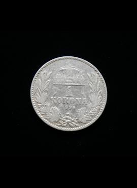 Austrija-Vengrija, SIDABRINĖ 1 krona, 1895m