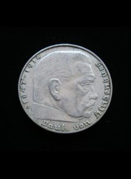 Vokietijos Reichas, SIDABRINĖS 2 markės 1939m-J