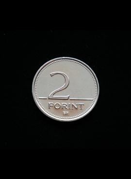 Vengrija, 2 forintai, 2001m