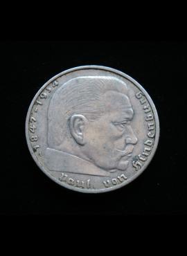Vokietijos Reichas, SIDABRINĖS 2 markės 1938m-A