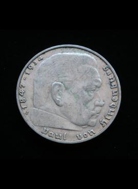 Vokietijos Reichas, SIDABRINĖS 2 markės 1937m-J