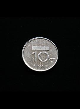 Nyderlandai, 10 centų 1991m