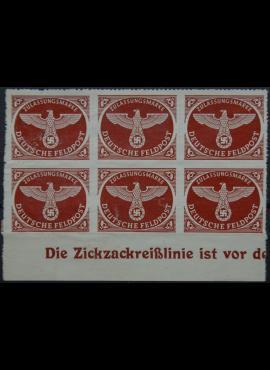 Vokietijos Reichas, oro paštas, MiNr 2 B MNG(*)