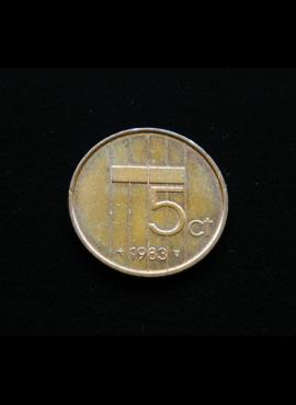 Nyderlandai, 5 centai 1983m