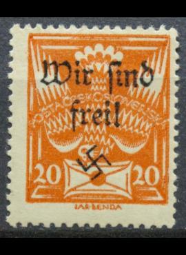 Vokietijos Reichas, Sudetų žemės, Mafersdorfas MiNr 3 MLH*