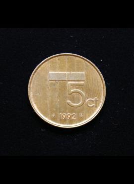 Nyderlandai, 5 centai 1992m