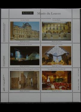 Suvenyriniai Luvro muziejaus ženklai