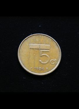 Nyderlandai, 5 centai 1996m