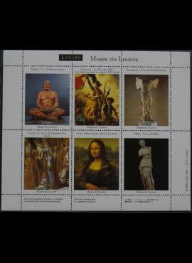 Suvenyriniai Luvro muziejaus darbų ženklai