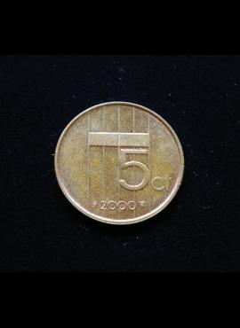 Nyderlandai, 5 centai 2000m