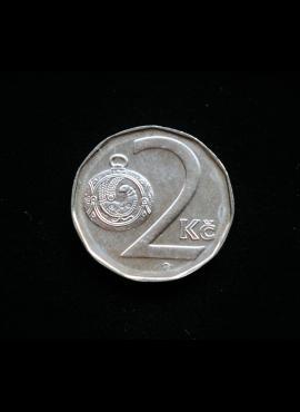 Čekija, 2 kronos 1995m A