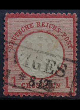 Vokietijos Reichas, 1872m, MiNr 4 Used(O)
