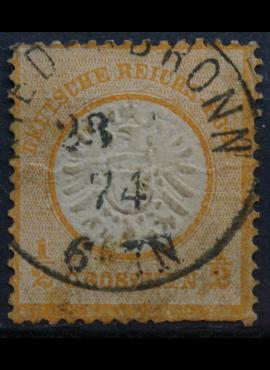 Vokietijos Reichas, 1872m, MiNr 18 Used(O)