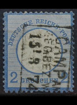 Vokietijos Reichas, 1872m, MiNr 20 Used(O)