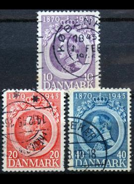 Danija, pilna serija ScNr 294-296 Used(O)