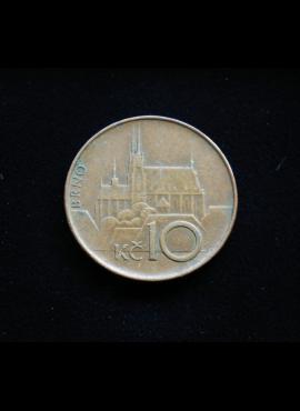 Čekija, 10 kronų 1993m A