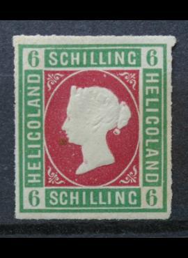 Senoji Vokietija, Helgolandas MiNr 4 MLH*