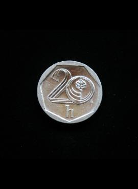 Čekija, 20 helerių 2000m