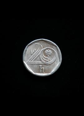 Čekija, 20 helerių 1996m