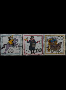 Vokietija, pilna serija MiNr 1437-1439 Used(O)