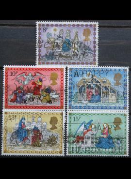 Didžioji Britanija, pilna serija ScNr 879-883 Used(O)