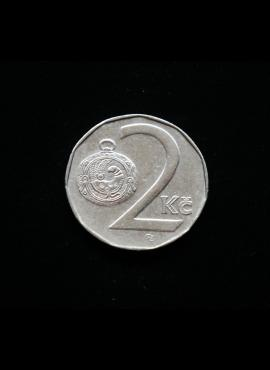 Čekija, 2 kronos 1994m-lapas
