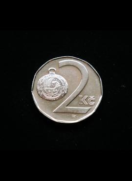Čekija, 2 kronos 1993m
