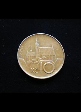Čekija, 10 kronų 1993m