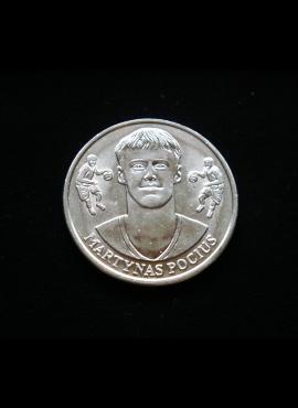 IKI krepšinio medalis, M. Pocius