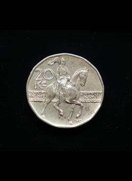 Čekija, 20 kronų 1998m