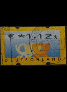 Vokietija, pašto automatų ženklas MiNr 4 Used(O)