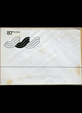 Lietuva, Palanga'87 vokas G