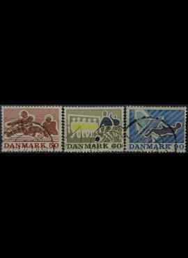 Danija MiNr 514-517 Used(O) V