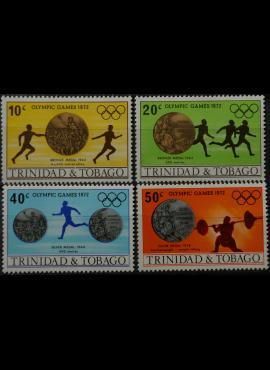 Trinidadas ir Tobagas MiNr 306-307, 309-310 MNH** V