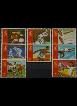 Pusiaujo Gvinėja, pilna serija MiNr 1288-1295 MNH** V