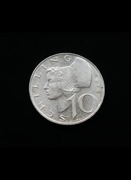 Austrija, 10 šilingų, 1978m