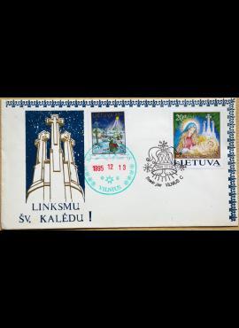 Lietuva, 1994m pirmos dienos vokas su MiNr 572 ir 597 G