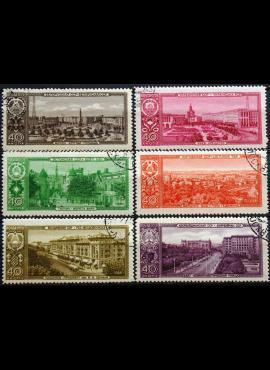Vokietija, 10 pfenigų 1950m-D