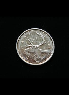 Kanada, 25 centai 2005m