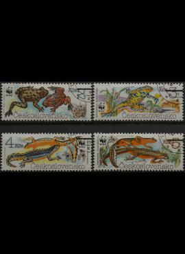 Čekoslovakija, pilna serija MiNr 3007-3010 Used(O)