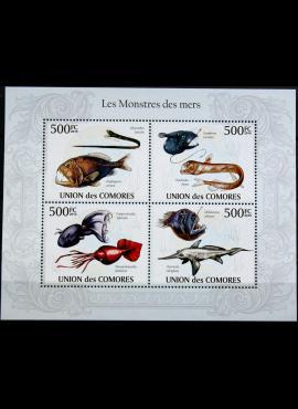 Komorų salos, pilna 2010m serija MNH**