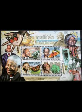 Burundis, 2011m blokas MNH**