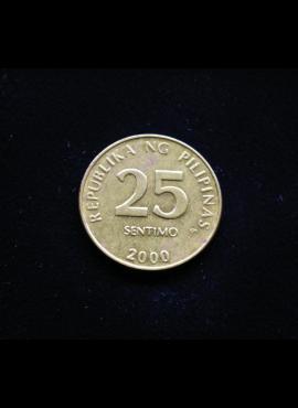 Filipinai, 25 santimai 2000m