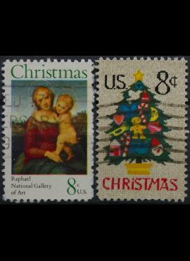 JAV, pilna serija ScNr 1507-1508 Used(O)